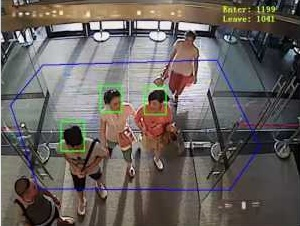 A video surveillance network to stop retail shopliftingpeople