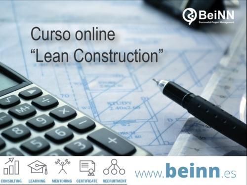 """Curso online """"Lean Construction"""""""