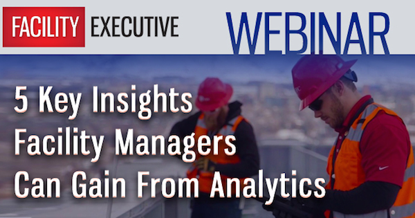 Webinar: 5 Key Insights Facility Managers Can Gain FromAnalytics