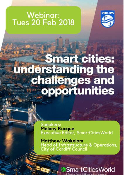 Webinar: The Challenges of implementing smart infrastructure incities