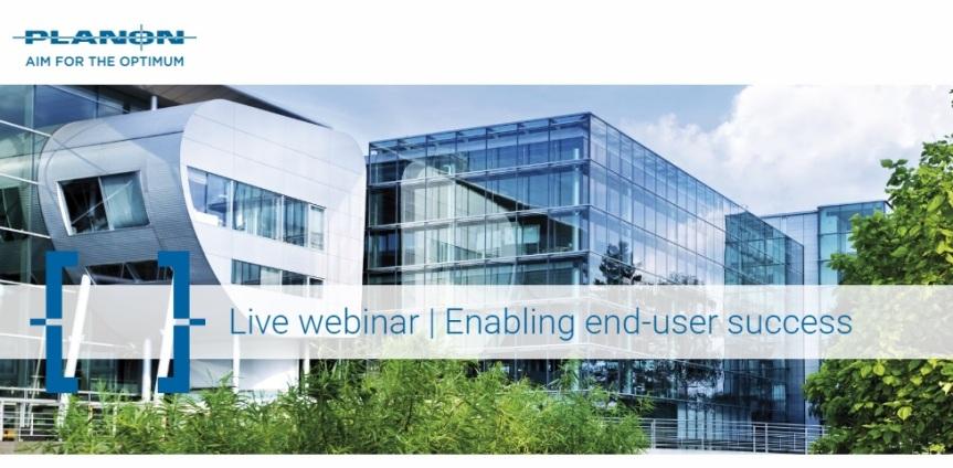 Webinar: Enabling end-usersuccess