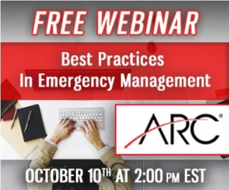Webinar: Best Practices In EmergencyManagement