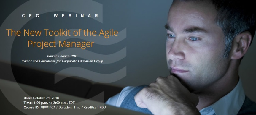 Webinar: The New Toolkit of the Agile ProjectManager