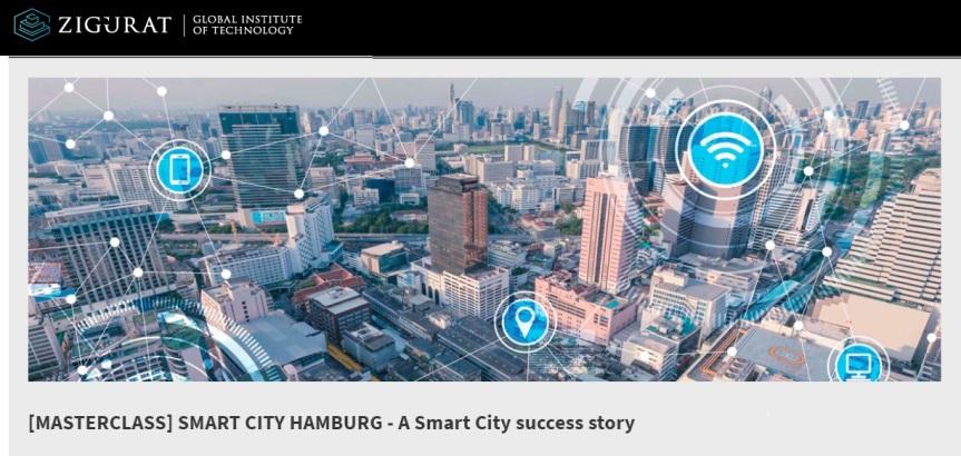 Webinar: Smart City Hamburg – A Smart City successstory