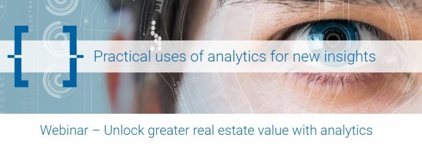 Webinar: Unlock greater real estate value withanalytics