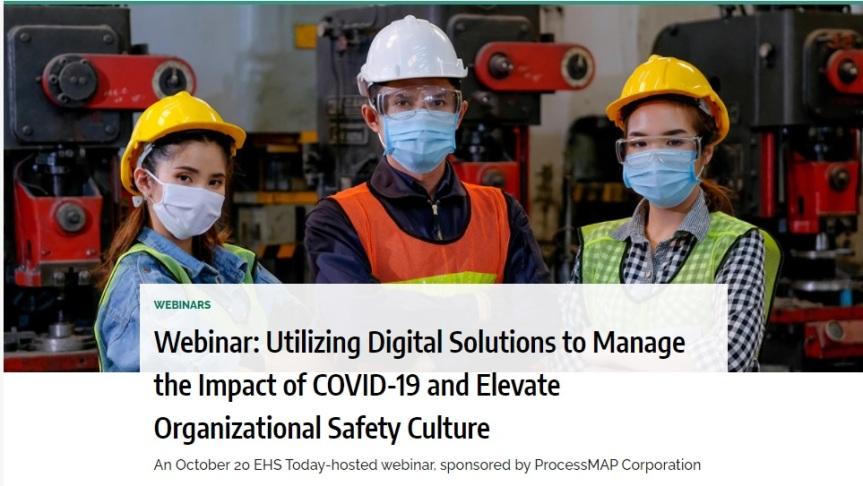 Webinar: Uso de soluciones digitales para gestionar el impacto de COVID-19 y mejorar la cultura de seguridadorganizativa