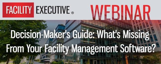 Webinar: Decision Maker's Guide – Qué le falta a su software de FacilityManagement?