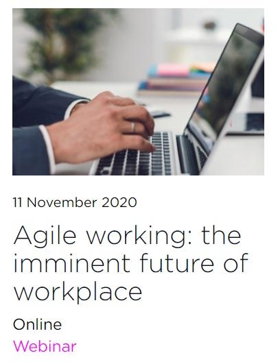 Webinar: Agile Working – El futuro inminente del espacio de trabajoCOVID-19