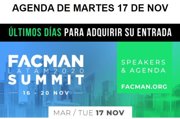 Evento: FACMAN 2020 –  Ya comenzó! Acompáñanos este Martes17