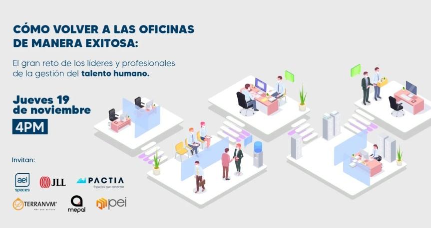 Webinar: Cómo volver a las oficinas de maneraexitosa