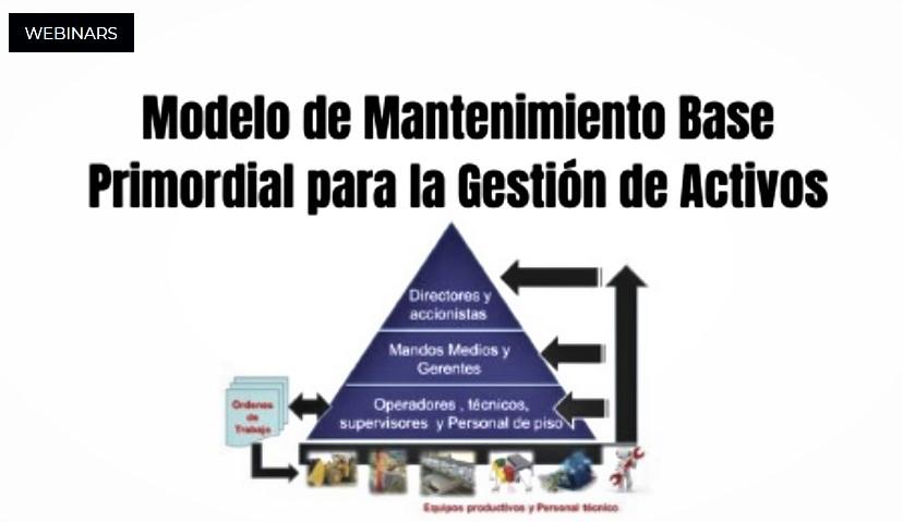Webinar: Modelo de Mantenimiento Base Primordial para la Gestión deActivos