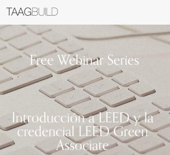 Webinar: Introducción a LEED y la credencial LEED GreenAssociate