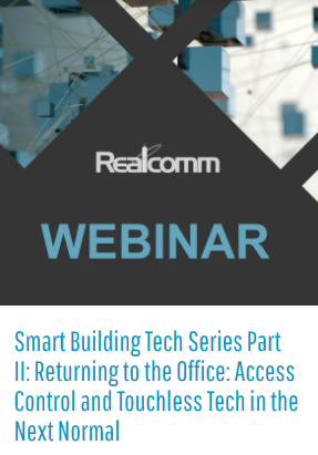 Webinar: Regreso a la oficina – Control de acceso y tecnología sin contacto en la próximanormalidad