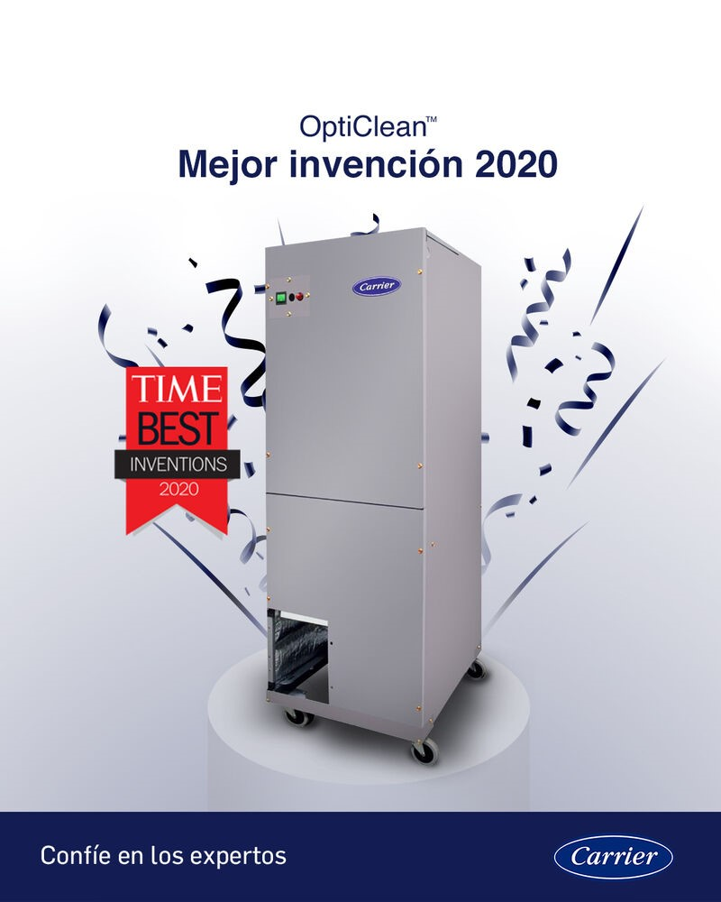 Nota: Carrier Indoor Air Quality Solutions for Facility Managers – Ricardo Ardila – CARRIER INTERAMERICACORPORATION