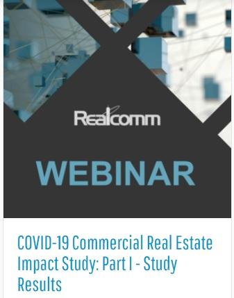 Webinar: COVID 19 – Estudio del Impacto en el Real Estate Comercial – Parte I –Resultados