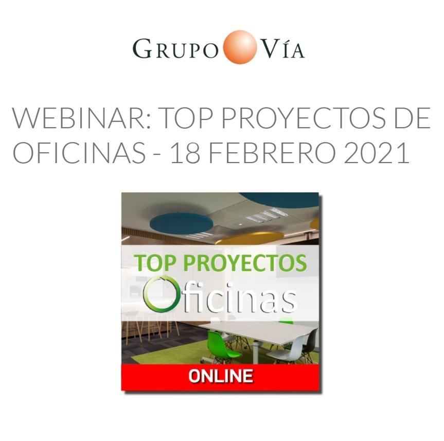 Webinar: Top Proyectos deOficinas